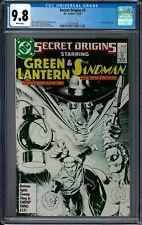 SECRET ORIGINS #7 CGC 9.8 (10/86) DC Comics white pages