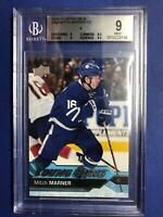 2016-17 Upper Deck Young Guns Rookie #468 Mitch Marner RC Beckett Graded 9 Mint