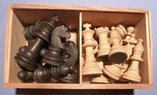 Schachspiel komplett im Holzkästchen JBN