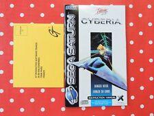 Cyberia Sega Saturn Anleitung manual booklet