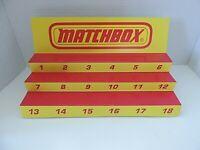 Matchbox Superfast  Display for Matchbox Cars and Trucks NEW
