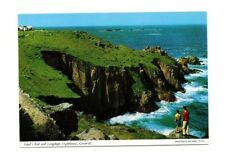 Cornwall - Lands End and Longships Lighthouse - Picture Postcard