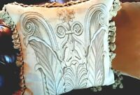 Pillow French Aubusson Needlepoint Wool Velvet by Gerry Nichols - Gorgeous!