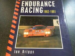 GROUP C ENDURANCE RACING IAN BRIGGS IMSA PORSCHE 956 962 JAGUAR XKR9 XJR10 XJR11