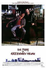 THE POPE OF GREENWICH VILLAGE Movie POSTER 27x40 Eric Roberts Mickey Rourke