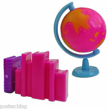 Earth Rolling Globe Books 1/6 for Barbie Monster High Doll's House Miniature