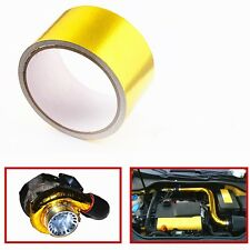 "Reflective Gold Performance Heat Protection Tape 2"" x 5m (200"" ) Roll 1200°f"