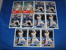 Lot of (18) Brett Lawrie 2012 RC Rookie Cards Topps Chrome Bowman Heritage