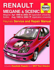 Renault Megane Scenic Repair Manual Haynes Workshop Manual  1999-2002 3916