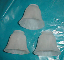 Jugendstil Messing Lampe Lampen Glas Lampenglas Lampenschirm 205 Anja 3 Stück