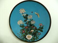 Plat cloisonné JAPON 19 siècle émaux émail japan antique enamel période Meiji