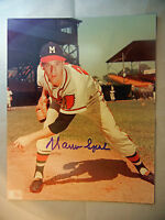 WARREN SPAHN Autographed 8x10 Photo JSA COA Signed Milwaukee Braves