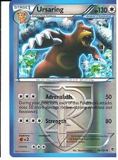 POKEMON BLACK AND WHITE PLASMA BLAST - URSARING 76/101 REV HOLO