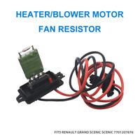Renault Megane Scenic/Grande MK2 Heater/Blower Motor Fan Resistor 7701207876