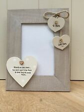 Shabby personalised Chic Photo Frame Special Best Friend Birthday Gift Present