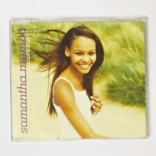 Samantha Mumba - Body II Body (CD Single, 2000 Wild Card) 3 Tracks + CDROM Video