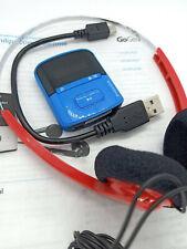 Philips GoGear Raga 4GB MP3 WMA Digital Flash Media Audio Music Player - BLUE