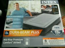 Intex Twin air mattress 13 inch height w/internal pump
