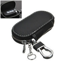 Universal PU Leather Car Smart Remote Key Fob Holder Bag Case Cover