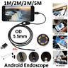 6LED 5.5mm Android Endoscope Waterproof Borescope USB Inspection Camera F xc