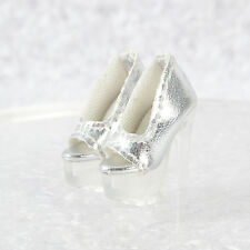 Sherry Silver New Shoes for Fashion Royalty Poppy Parker, DG, Momoko Silkstone 9