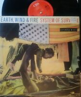 """EARTH WIND & FIRE ~ System Of Survival ~ 12"""" Single PS"""