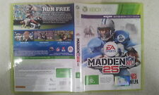 Madden NFL 25 xbox 360 PAL Version