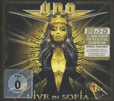 U.D.O. - LIVE IN SOFIA - 1 DVD + 2 CDs ( DIGIPAK ) - 884860060875