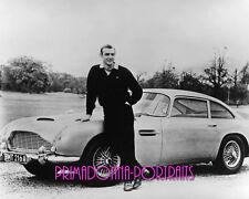 SEAN CONNERY 8x10 Lab Photo 1960s Aston Martin DB5 Handsome JAMES BOND Portrait