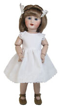 "White Slip and Bloomer set fits Bleuette and slim 11""-12"" Dolls"