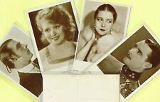 ROSS VERLAG - 1930s Film Star Postcards produced in Germany #4941 to #5044