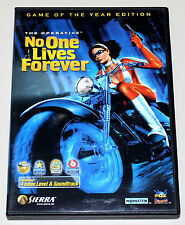 NO ONE LIVES FOREVER - THE OPERATIVE - GAME OF THE YEAR EDITION - PC DVD