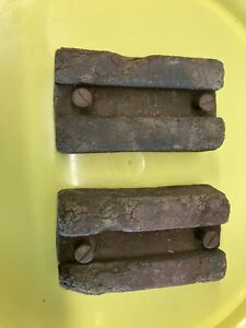 Willys Jeep Vintage Original Rubber Hood Blocks
