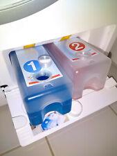 Nachfüllbehälter, 2x Stöpsel aus 3D-Drucker (kompatibel mit Miele TwinDos)