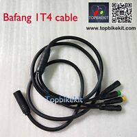 Higo 1T4 cable for bafang mid drive motor with waterproof connector BBS01 BBS02