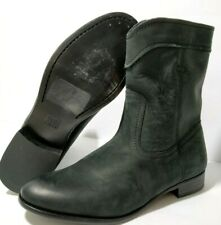 Frye Black Suede Boot Womens 8 B Cara Roper Short  C128