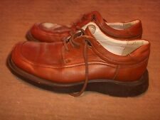 Kenneth Cole Dress Shoes Brown Oxford Made in Italy Mens Size 8