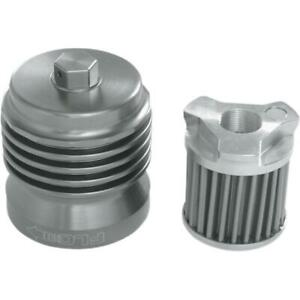 PC Racing PCS1 FLO Spin On Stainless Steel Oil Filter