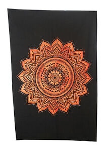 Indian Mandala Cotton Tapestry Poster Hippie Wall Table Cloth Home Decor Art