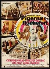 DEMOISELLES DE ROCHEFORT YOUNG GIRLS OF Danish A1 movie poster DENEUVE DORLEAC
