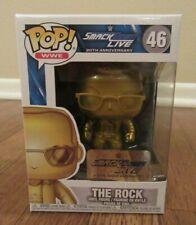 Funko Pop! Wwe #46 The Rock Smack Down Live 20th Anniversary Brand New Nib Ltd