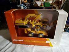 1994 ERTL John Deere Construction Equipment Set 1/64 Scale 5841