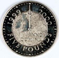 1999 Great Britain United Kingdom Millennium Anno Domini £5 Pound Copper-Nickel