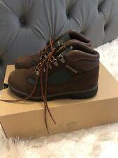 Timberland Field Boot Brown Nubuck/Olive Junior Big Kids Boots 16937 Size 5.5