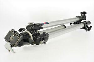 Manfrotto 190 Aluminium Tripod  60 cm - 160 cm, nice ,+ ball head, fully working