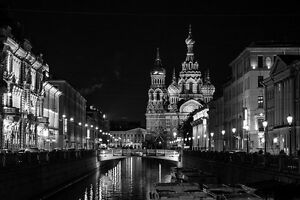 STUNNING ST. PETERSBURG CANVAS #560 RUSSIAN CITY A1 PICTURE WALL ART HOME DECOR