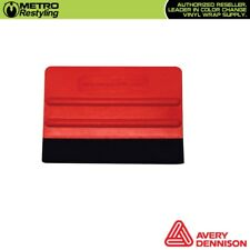 Avery Dennison Red Pro Flex Squeegee for Vinyl Wrapping Car Vehicle Wrap