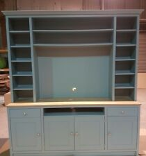 Living Room TV Media Unit Large 1800mm Wide painted any colour Farrow & Ball