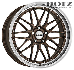 Dotz Revvo wheels 8.5Jx19 ET34 5x114,3 for MAZDA 6 3 RX8 CX-5 rims