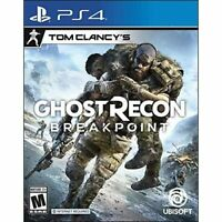 Tom Clancy's Ghost Recon Breakpoint For PlayStation 4 PS4 Fighting Very Good 3E